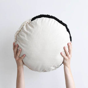 Hello Happy Handmade Yin Yang Pillow - 16""