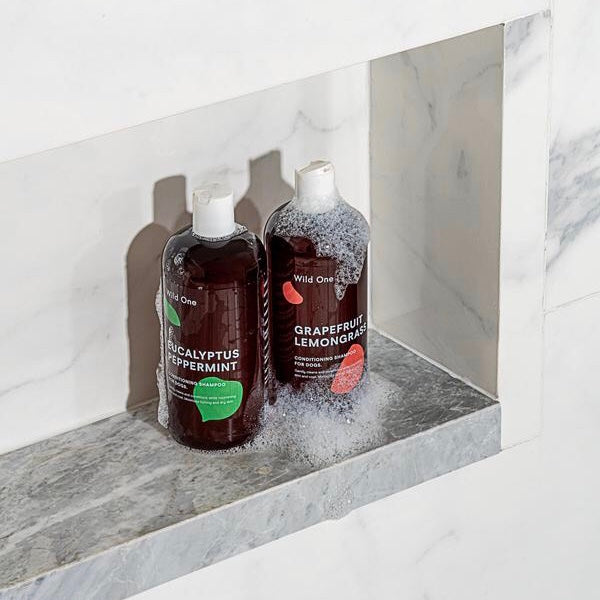 Wild One Natural Conditioning Shampoo - Eucalyptus Peppermint