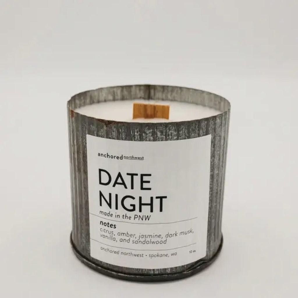 Anchored Northwest Candles - Date Night