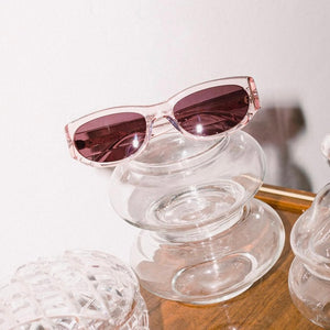 Crap Eyewear The Funk Punk - Crystal Rose, Plum