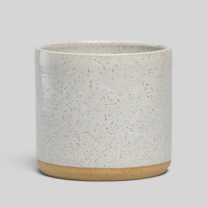 "Norden 7"" Planter - White Speckle"