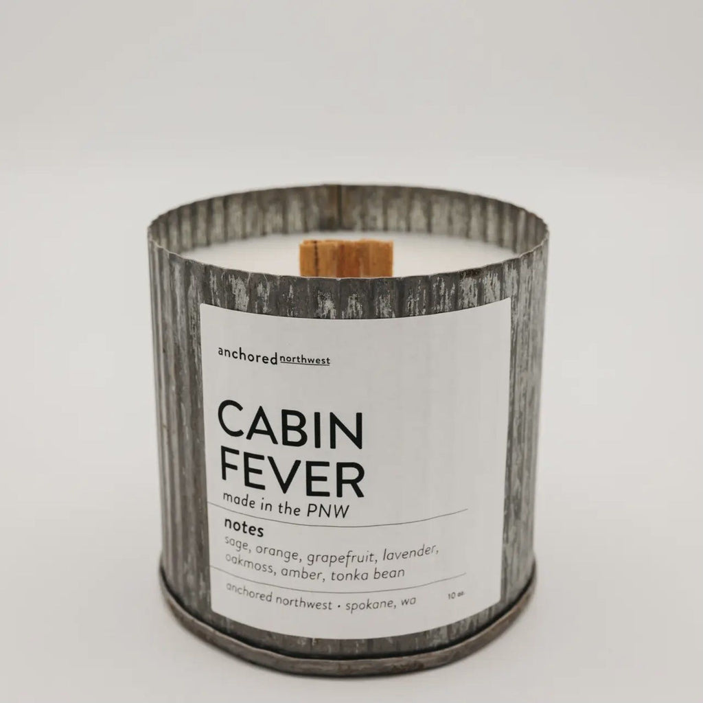 Anchored Northwest Candles - Cabin Fever