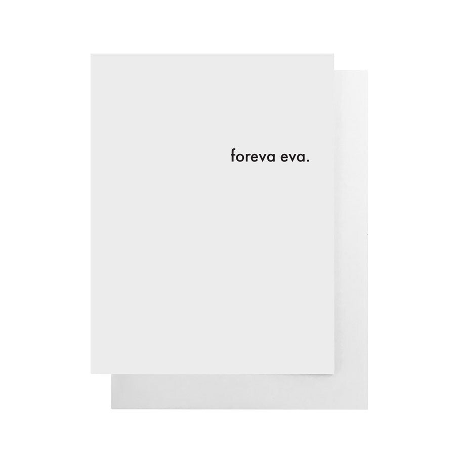 Cult Paper Greeting Cards - Foreva Eva