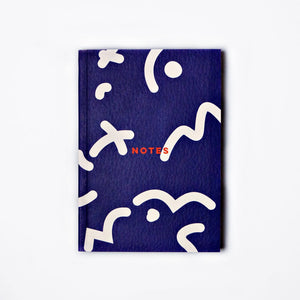 The Completist | The Completist Pocket Notebook - Blue Squiggle | Gift - Notebooks | Phoenix General Store