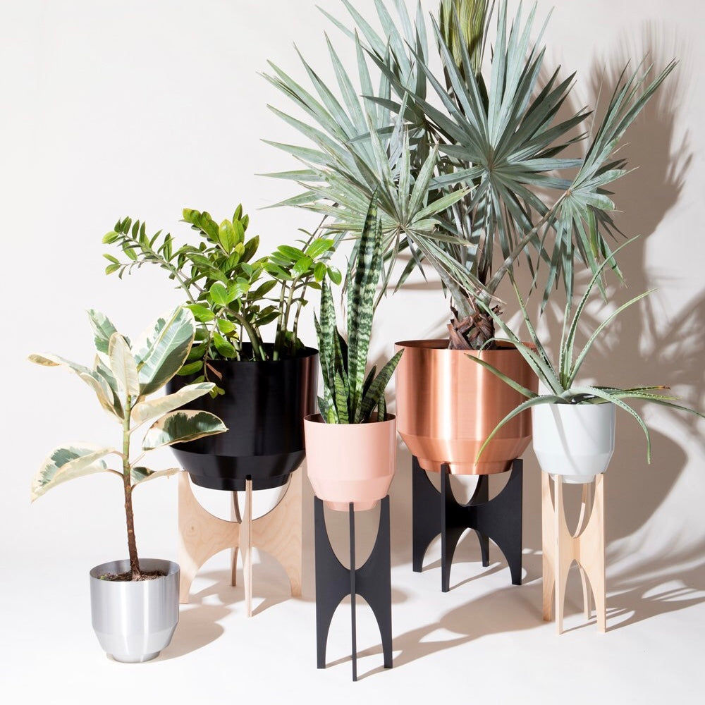 "Yield | Yield 16"" Spun Planter - Copper 