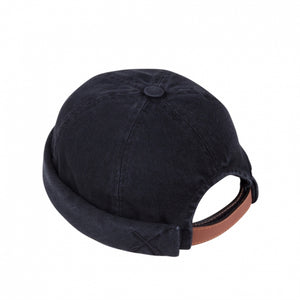 Béton Ciré Miki Hat - Washed Black