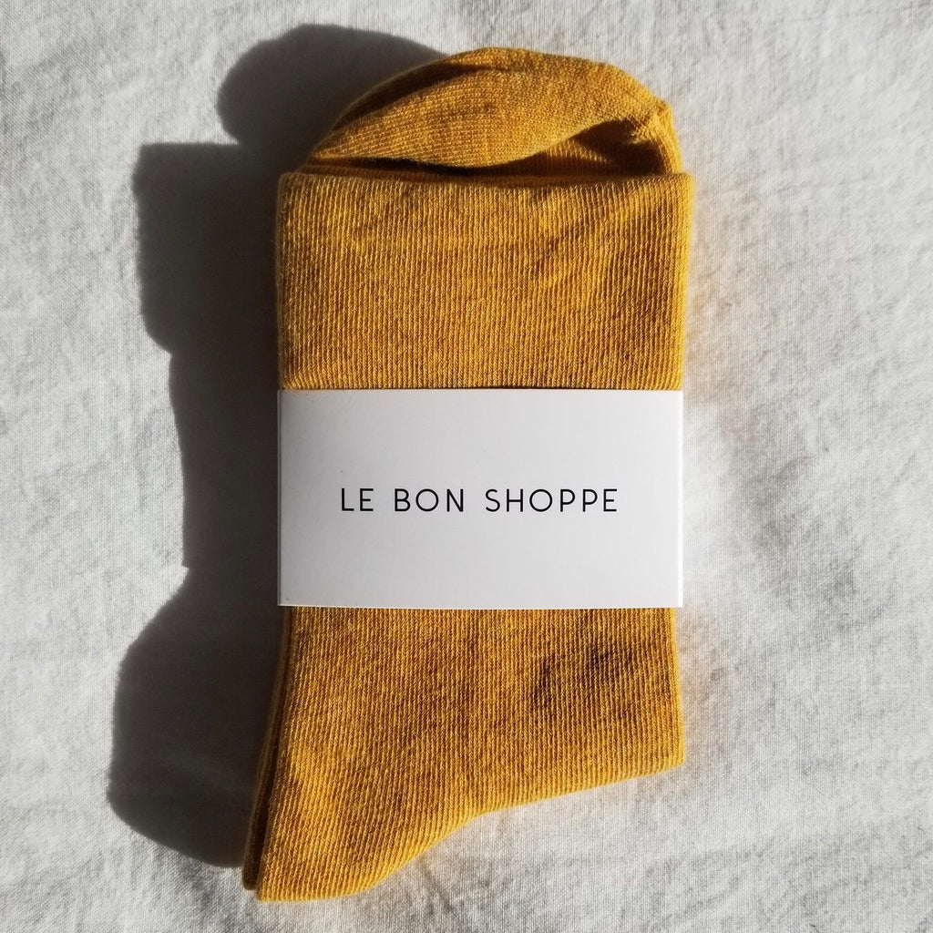 Le Bon Shoppe | Le Bon Shoppe Sneaker Sock - Marigold | Women's Accessories - Socks | Phoenix General Store