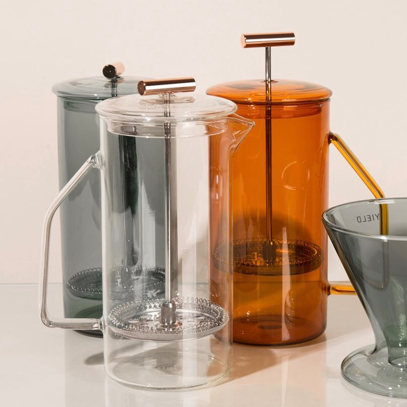 Yield | Yield 850 mL Glass French Press - Amber | Home & Gift - French Press | Phoenix General Store