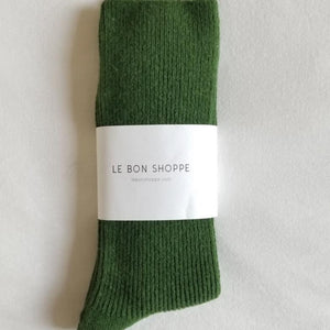 Le Bon Shoppe Grandpa Socks - Avocado