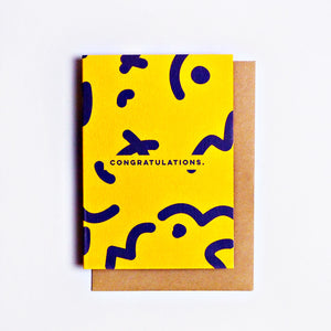 The Completist | The Completist Greeting Card - Congratulations | Gift - Greeting Cards | Phoenix General Store