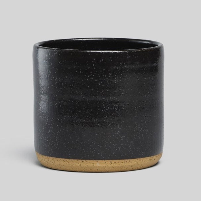 "Norden 7"" Planter - Black Speckle"