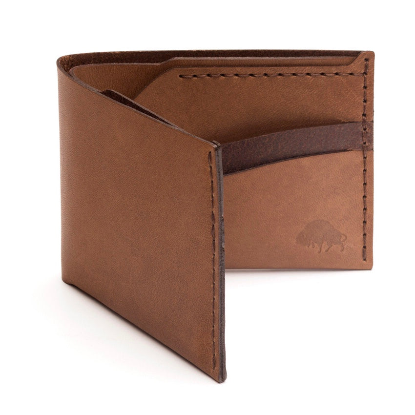 Ezra Arthur | Ezra Arthur No. 6 Wallet - Whiskey | Men's Accessories - Wallets | Phoenix General Store
