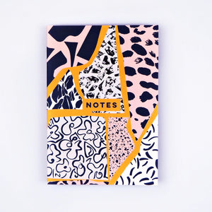 The Completist | The Completist Premium Notebook - Patchwork | Gift - Notebooks | Phoenix General Store