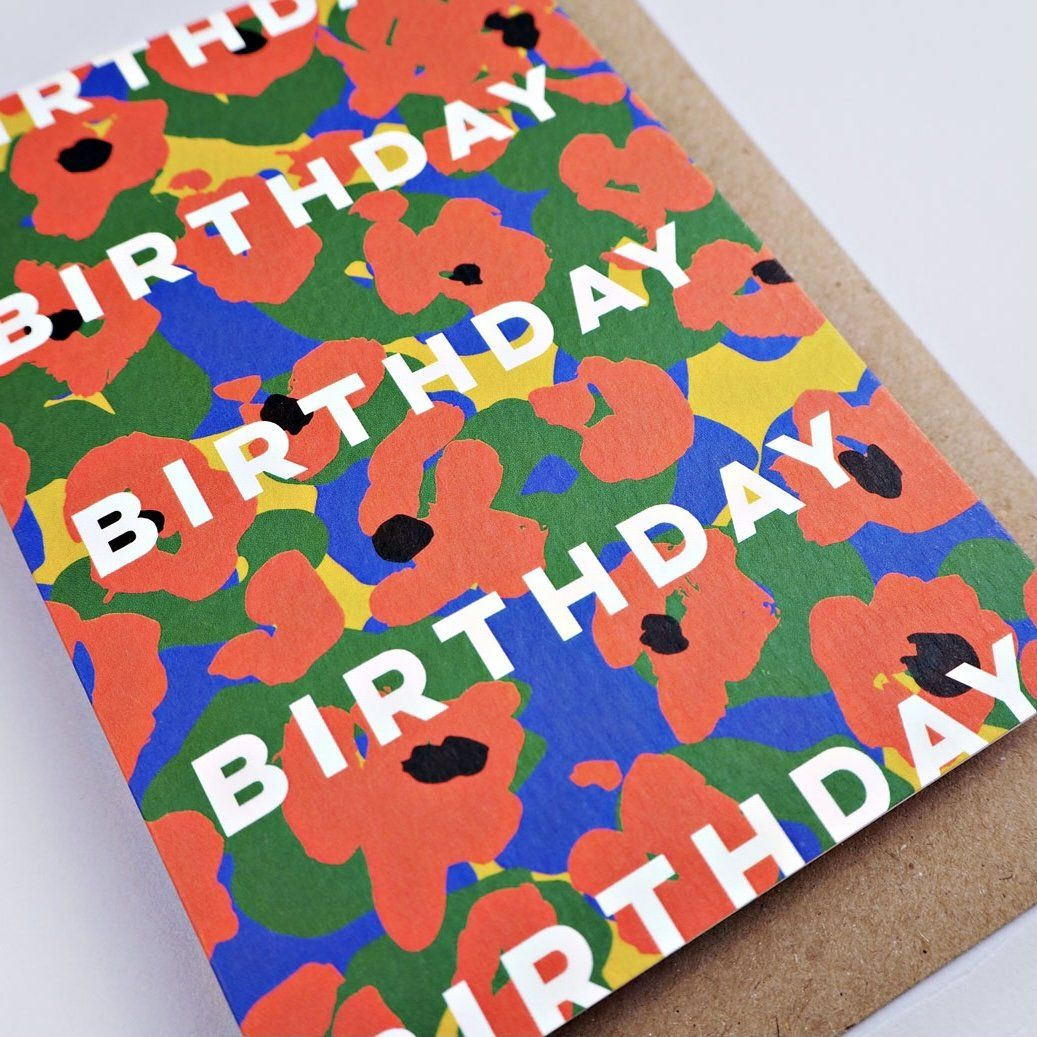 The Completist Greeting Card - Birthday Flowers