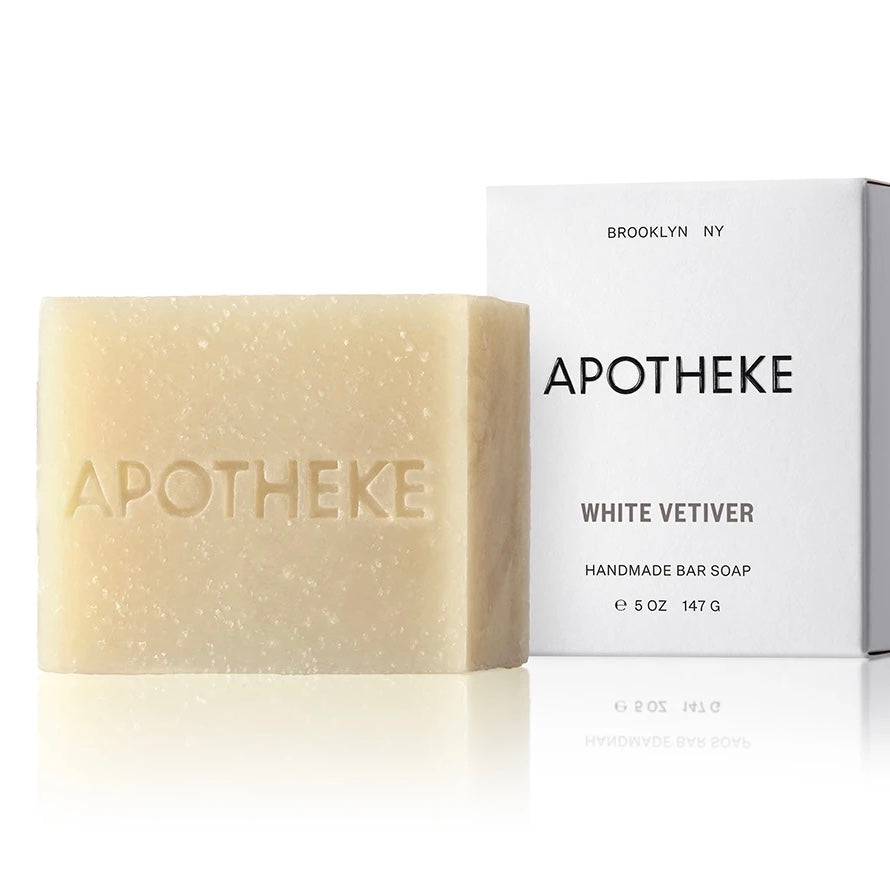 Apotheke Bar Soap -White Vetiver