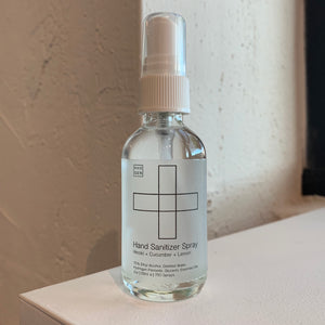 Hand Sanitizer Spray | Hinoki + Cucumber + Lemon