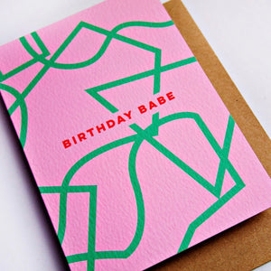 The Completist | The Completist Greeting Card - Birthday Babe | Gift - Greeting Cards | Phoenix General Store