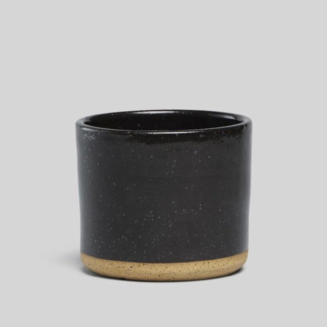 "Norden 5"" Planter - Black Speckle"