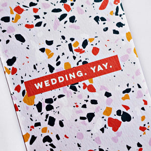 The Completist Greeting Card - Wedding Yay