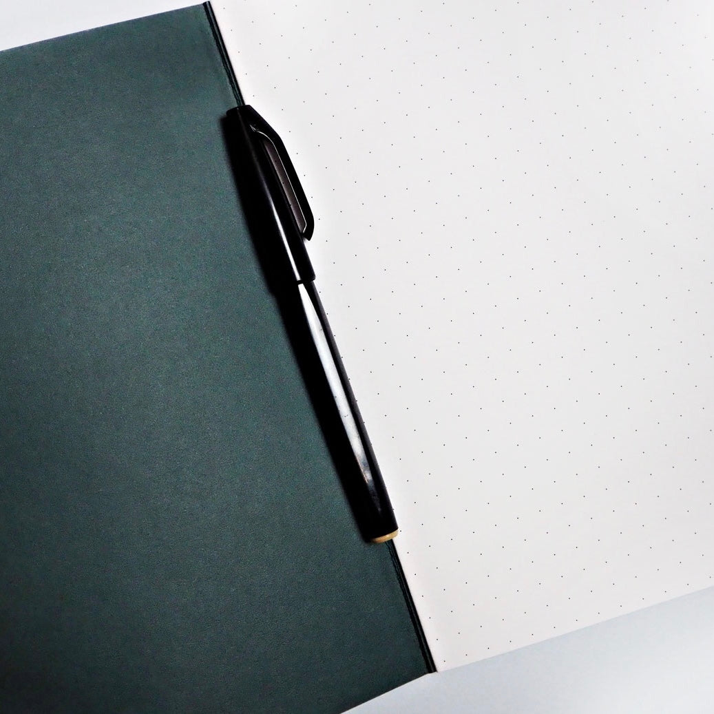 The Completist Premium Notebook - Lilac Shapes