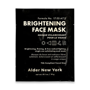Alder New York Single Face Mask - Brightening