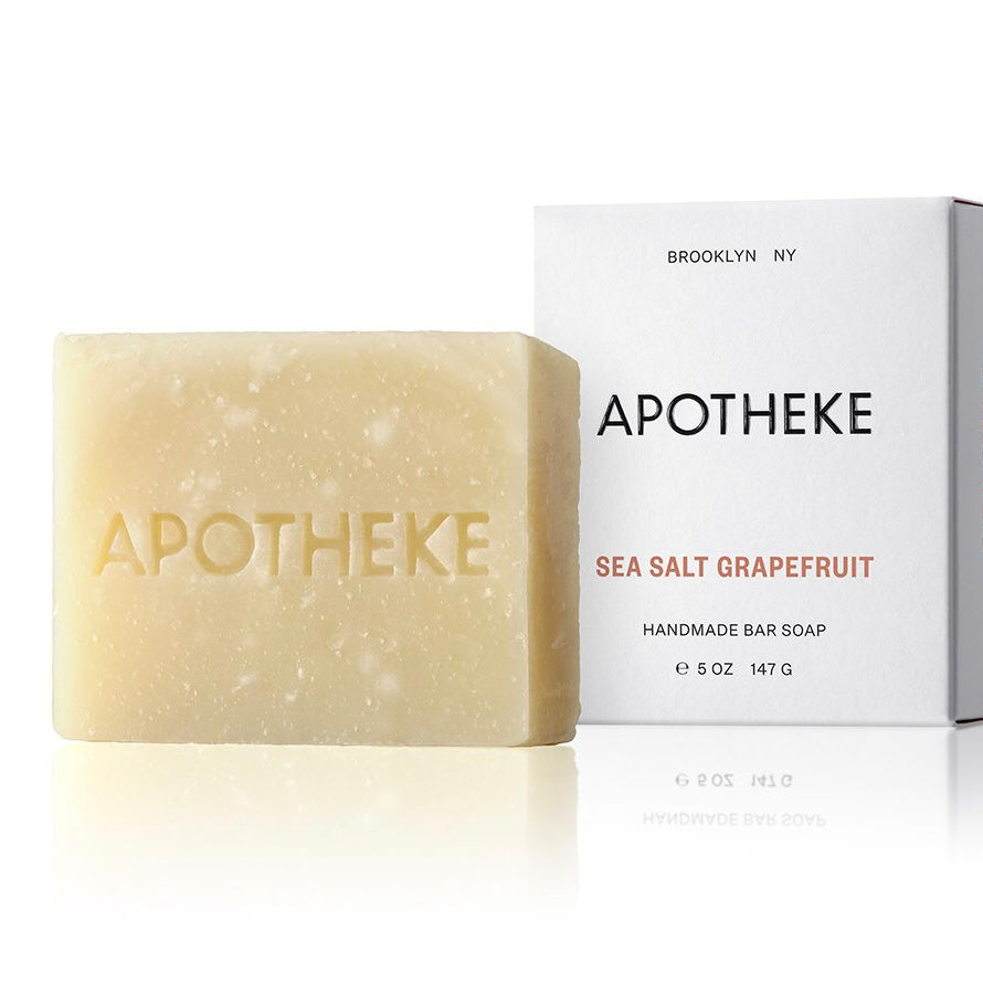 Apotheke Bar Soap - Sea Salt Grapefruit