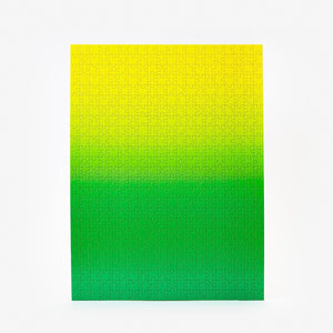 Areaware | Areaware Gradient Puzzle - Yellow & Green | Gift - Puzzles | Phoenix General Store