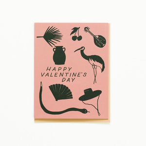 Small Adventure | Silhouette Valentine's Day Card | Home Decor - Greeting Cards | Phoenix General Store