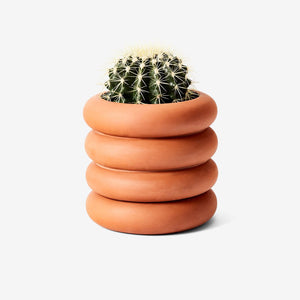 Areaware Stacking Planter - Tall Terracotta