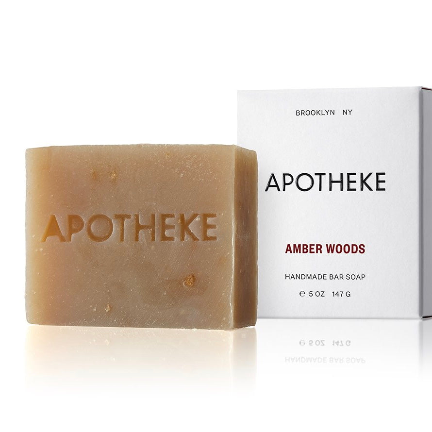 Apotheke Bar Soap - Amber Woods