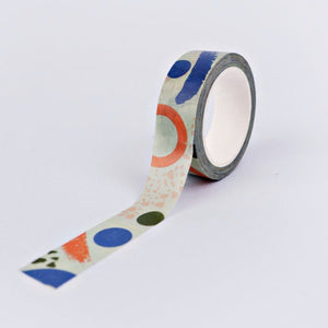 The Completist Washi Tape - Primary Memphis
