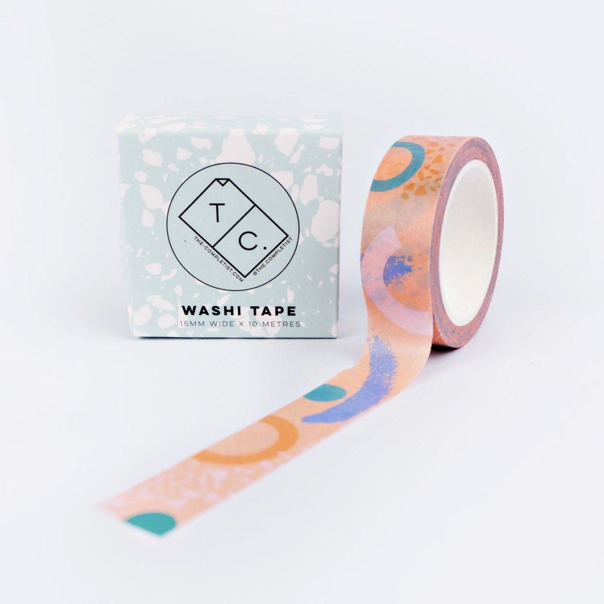 The Completist Washi Tape - Pink Memphis