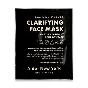 Alder New York Single Face Mask - Clarifying
