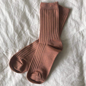 Le Bon Shoppe Her Socks - Peach