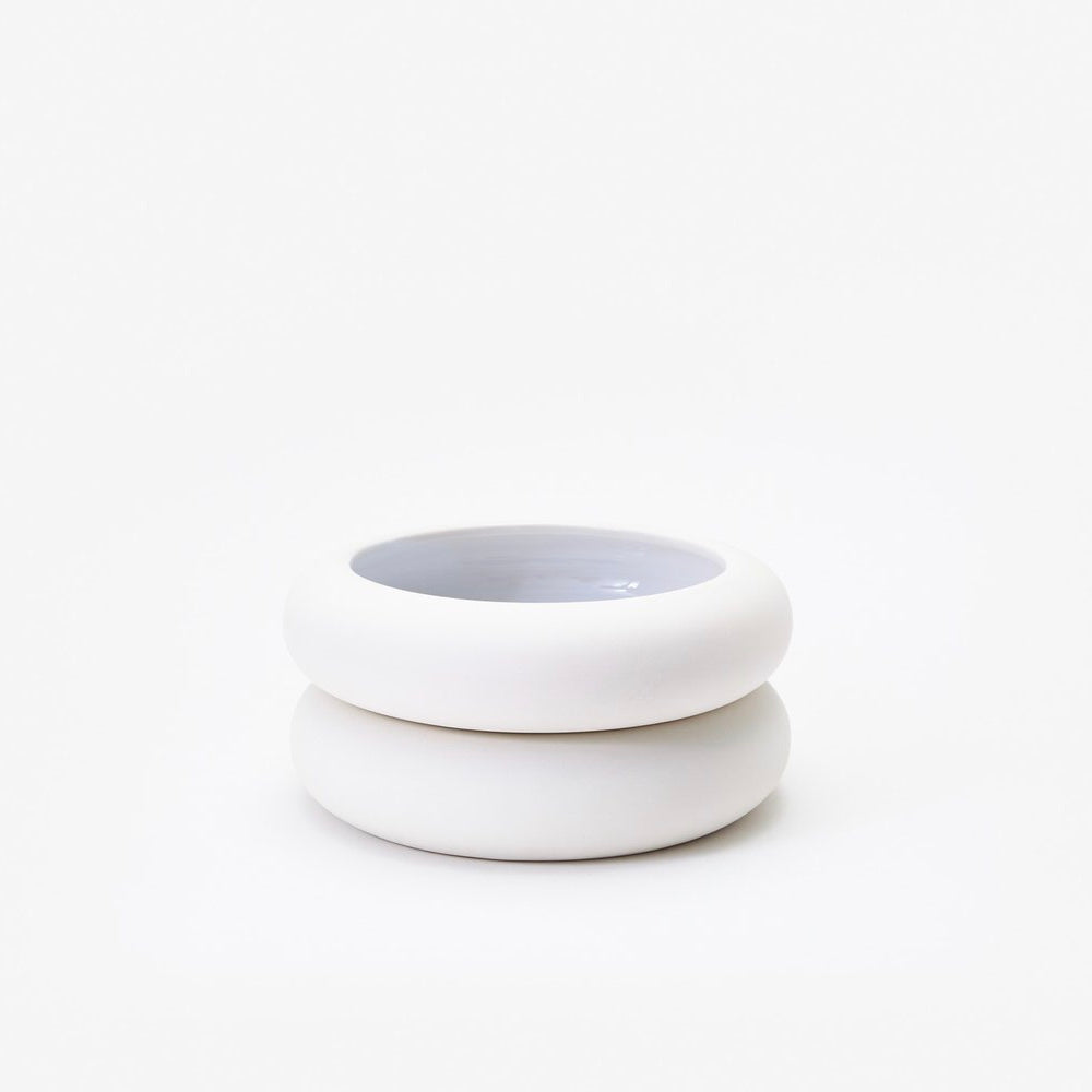 Areaware | Areaware Stacking Planter - Short White | Home Decor - Ceramics | Phoenix General Store