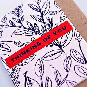 The Completist Greeting Card - Thinking of You