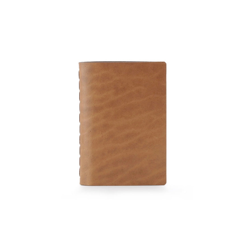 Ezra Arthur | Ezra Arthur Small Notebook - Whiskey | Men's Accessories - Leather Notebooks | Phoenix General Store