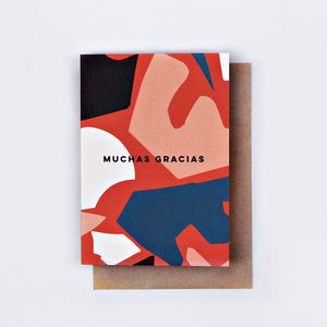 The Completist | The Completist Greeting Card - Muchas Gracias | Gift - Greeting Cards | Phoenix General Store
