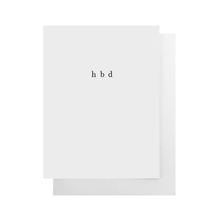 Cult Paper | Cult Paper Greeting Cards - hbd | Home & Gift - Greeting Cards | Phoenix General Store