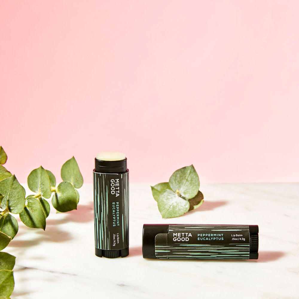 Metta Good | Metta Good Peppermint Eucalyptus Lip Balm | Bath/Beauty - Lip Balm | Phoenix General Store
