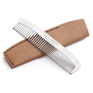 Ezra Arthur | Ezra Arthur No. 1827 Pocket Comb - Whiskey | Men's Accessories - Combs | Phoenix General Store
