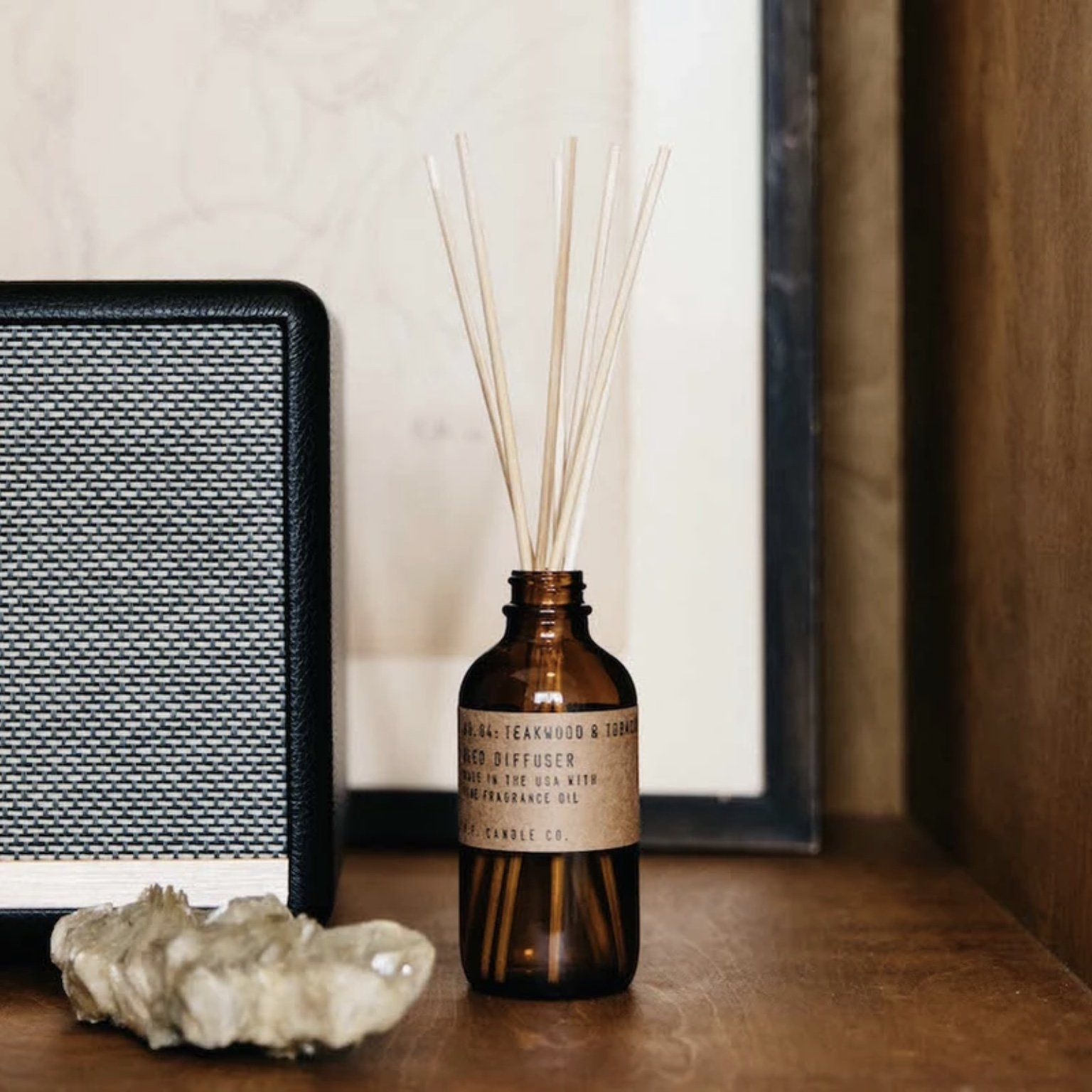 PF Candle Co Reed Diffusers - Teakwood & Tobacco