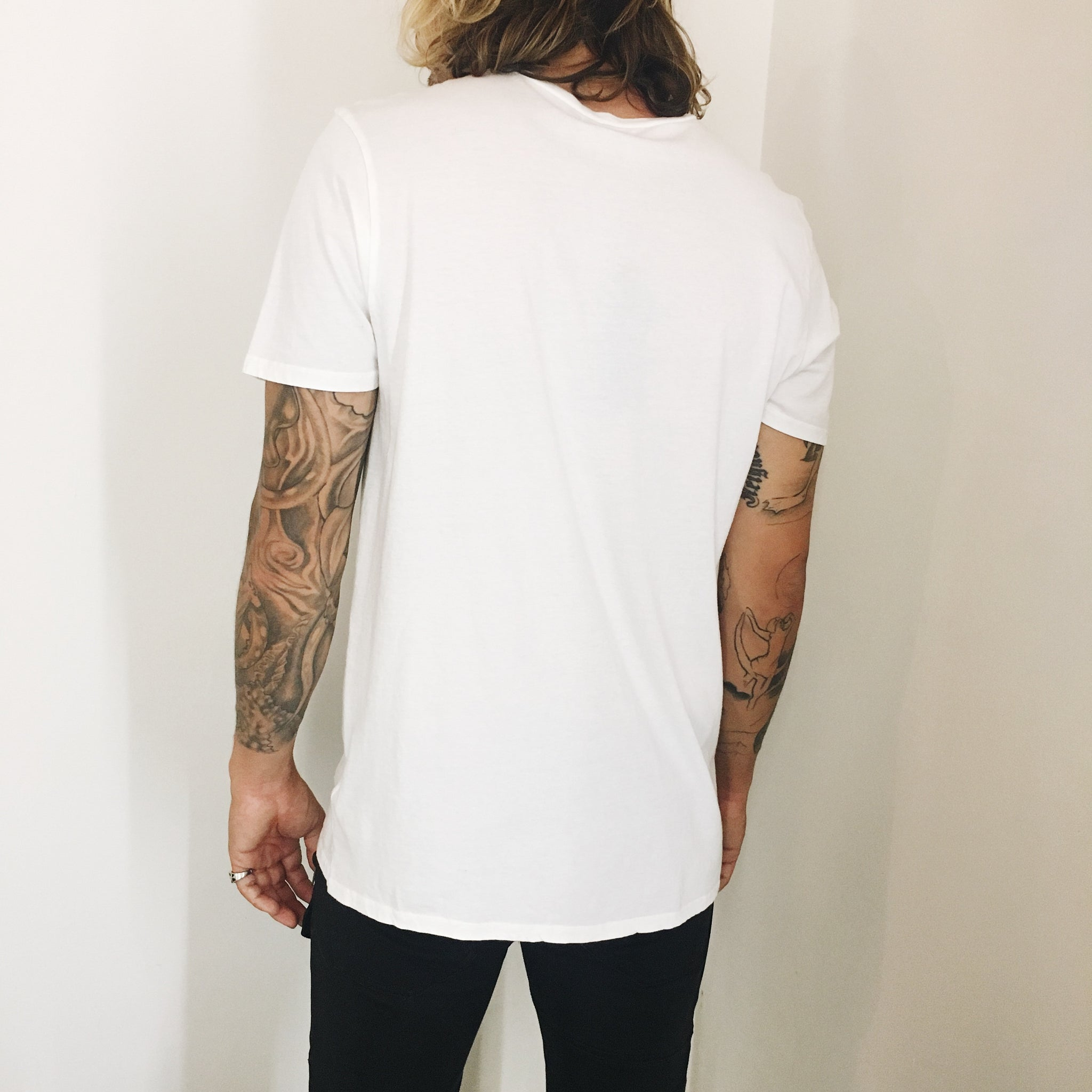 Phoenix General | Men's Crew Tee - White | Men's Tops - Tees | Phoenix General Store
