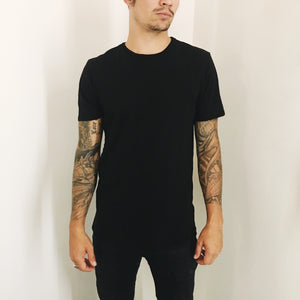Phoenix General | Phoenix General Men's Crew Tee - Black | Men's Tops - Tees | Phoenix General Store
