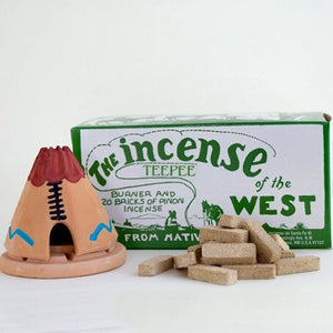 Incense of the West | Incense of the West - Teepee | Home Decor - Incense | Phoenix General Store