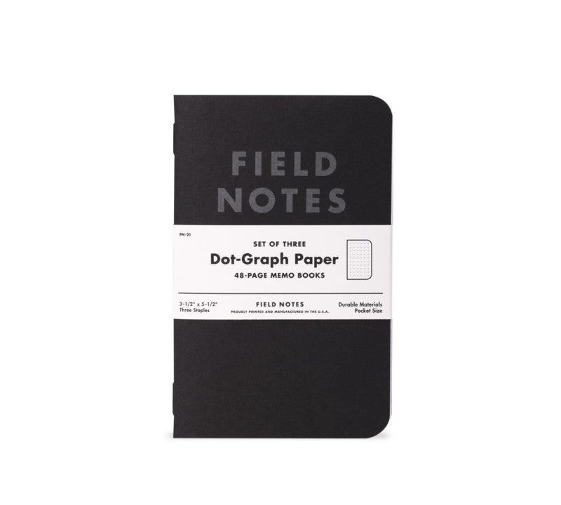 Field Notes - Dot-Graph 3 Pack