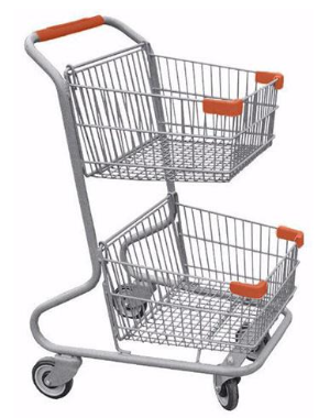 Small Shopping Carts Lead To Big Sales