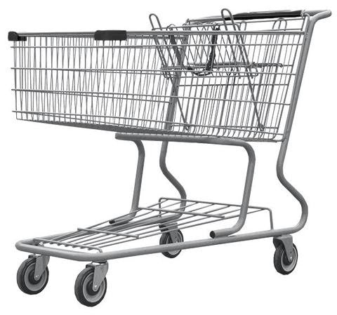 Wire - Metal Shopping Carts