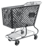 Dark Gray Shopping Cart