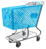 Light Blue Shopping Cart
